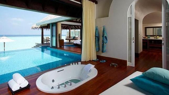 Diez ba eras de hotel con vistas incre bles - Baneras vistas ...