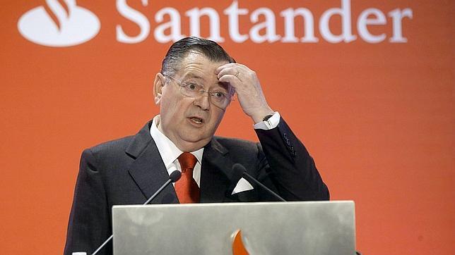 Dimite Alfredo Sáenz como vicepresidente y consejero delegado del Banco Santander