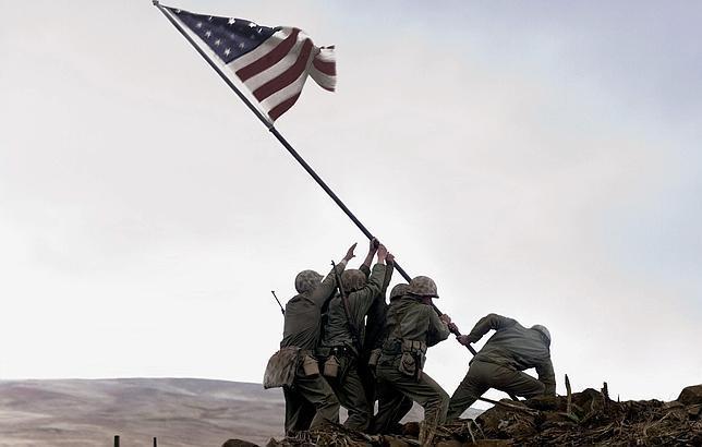 Muere el último soldado de la icónica foto de Iwo Jima