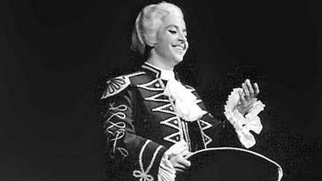 Berganza en «Las Bodas de Fígaro»de Mozart  en 1961 en Amsterdam