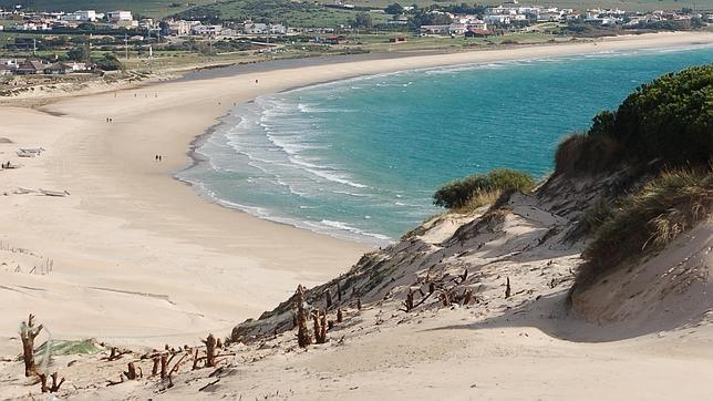 Playa de Bolonia en Cádiz
