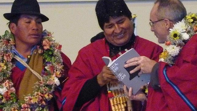 Evo Morales: «No me gusta leer»