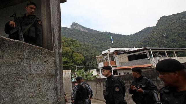 La Policía «ocupa» las favelas de Río de Janeiro ante la próxima visita del Papa