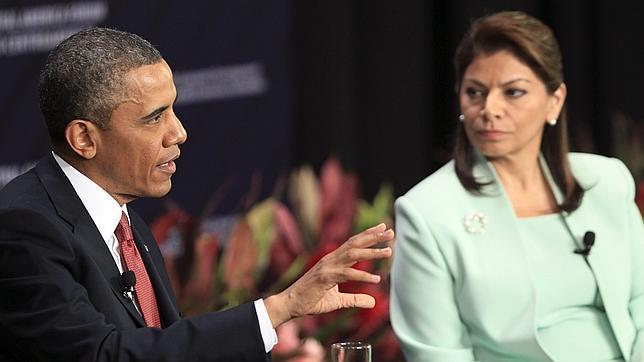La lucha contra el narcotráfico marcó el encuentro de Obama con los presidentes centroamericanos