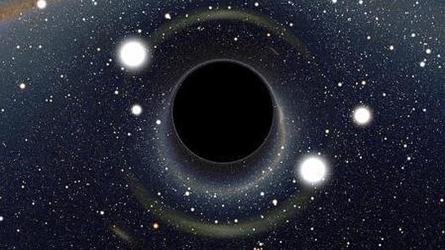 La señal del nacimiento de un agujero negro
