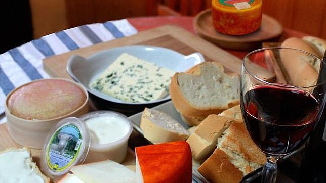 El queso extremeño se come al francés