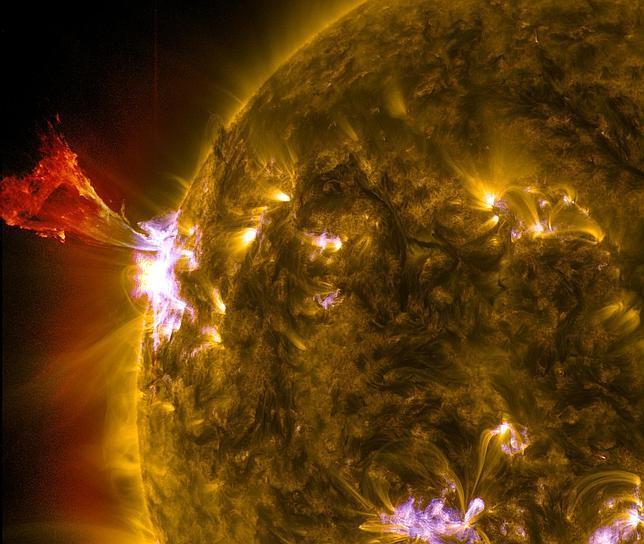 El Sol la suelta bien grande