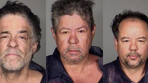 Los tres sospechosos detenidos
