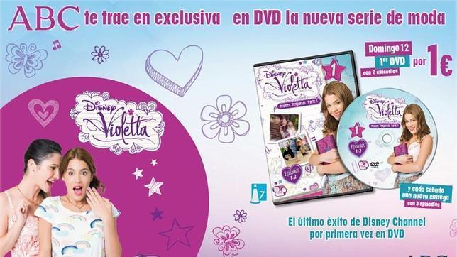 ABC te trae en exclusiva en DVD la serie «Violetta»