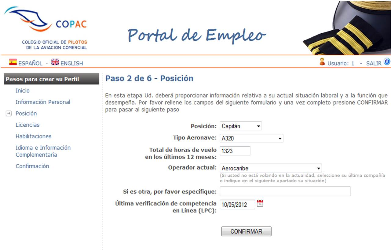 Crean un portal de empleo especializado en pilotos for Portal empleo madrid