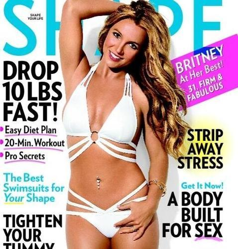 Britney Spears recupera su figura sexy de antaño
