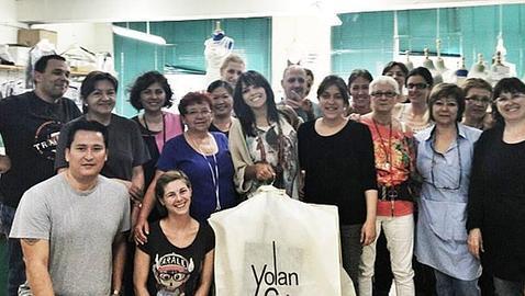 «Raquel del Rosario ha intervenido mucho en la creación de su vestido para Eurovisión»