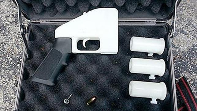 EE.UU. obliga a retirar de una web los planos para crear la pistola en 3D
