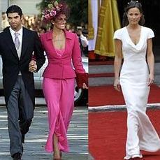 Vestidos madrina famosas