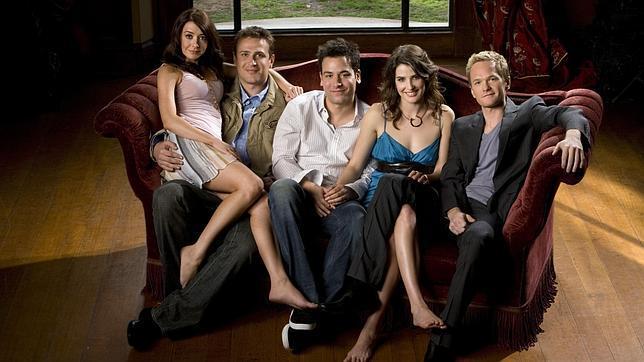 Los cinco protagonistas de la serie