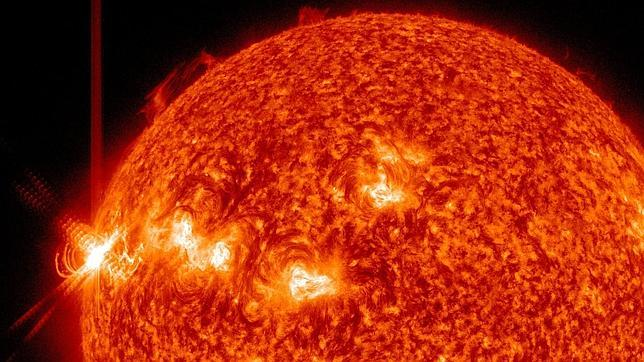 Tres llamaradas solares potentísimas en menos de 24 horas