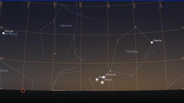 La conjunción de Júpiter, Venus y Mercurio: consejos para verla