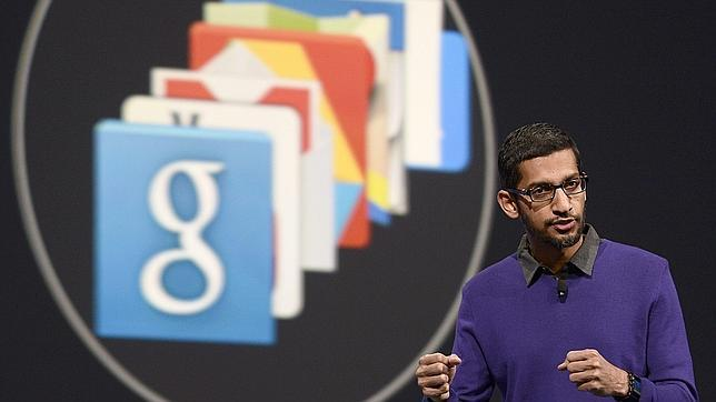 Sundar Pichai, vicepresidente en jefe de Android, Chrome y Apps de Google
