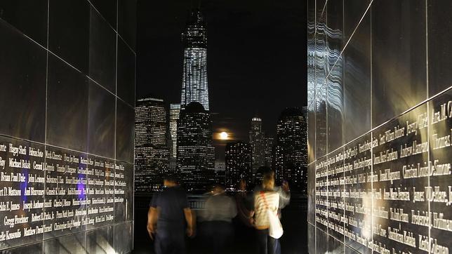 Nueva York desde el Monumento Nacional dedicado a las víctimas del 11-S
