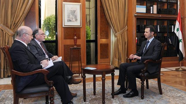 Bashar Al Assad: «Renunciar sería huir. El pueblo decidirá, no Kerry u otro»