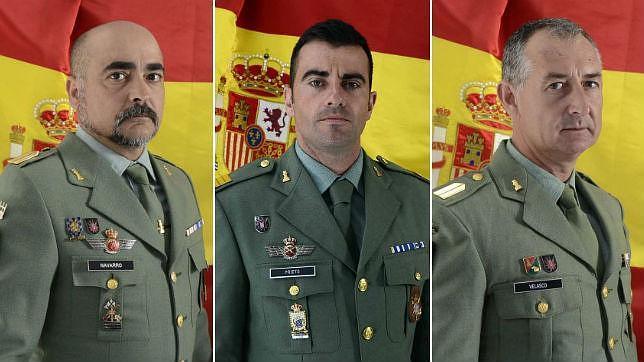 Los tres artificieros fallecidos: militares curtidos en la guerra de Afganistán