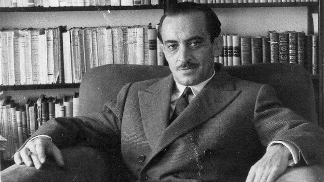 Sergi Doria retrata a Ignacio Agustí (en la imagen) como un hombre abatido