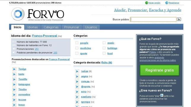 Forvo, la «Wikipedia de las pronunciaciones»