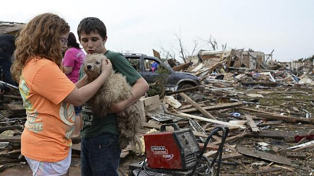 Los vídeos del tornado de Oklahoma