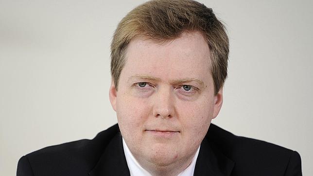 El líder del Partido Progresista, Sigmundur Davíð Gunnlaugsson