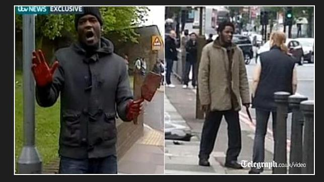 Una mujer habló con uno de los asesinos del soldado degollado en Londres