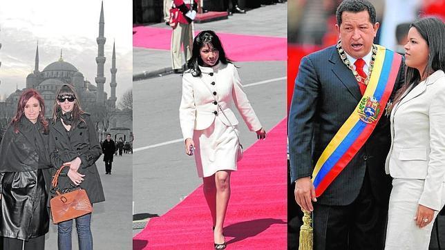 Así son las «primeras damitas» bolivarianas