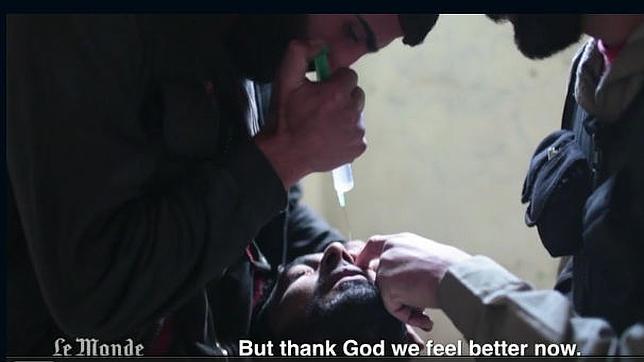 Periodistas de «Le Monde» aportan nuevas pruebas del uso de armas químicas en Siria