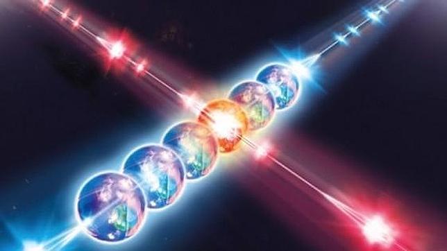 Físicos logran entrelazar dos partículas a través del tiempo