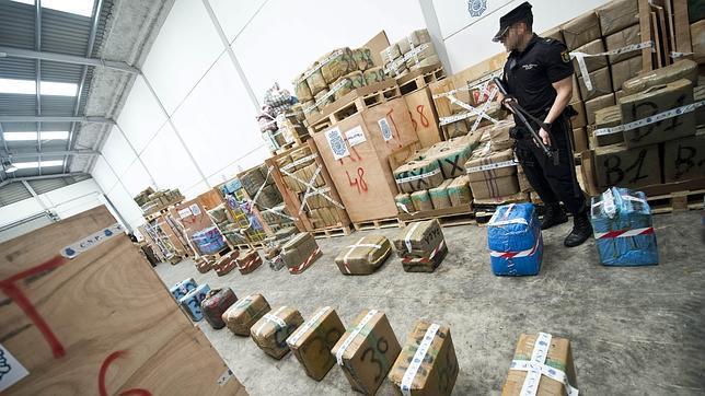 Hoy se destruyen las 64 toneladas de hachís intervenidas en Córdoba