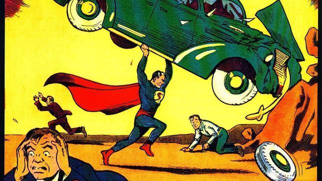 Encuentra en las paredes de su casa un ejemplar del primer número de Superman