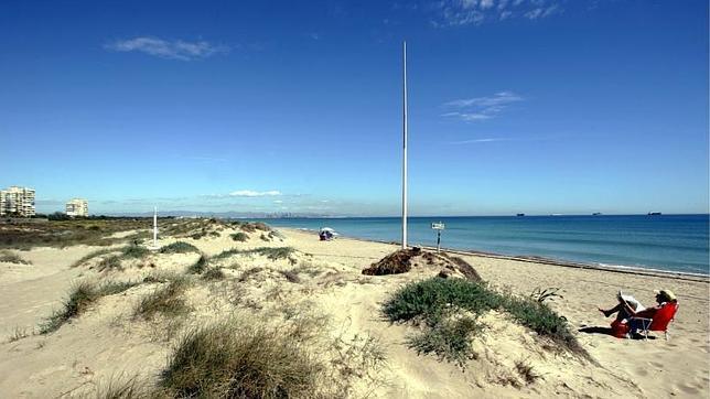 Playa nudista de El Saler