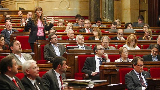 Los partidos dan el visto bueno a los presupuestos del Parlamento catalán