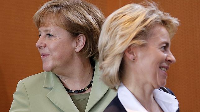 Ursula von der Leyen, la delfín de Merkel