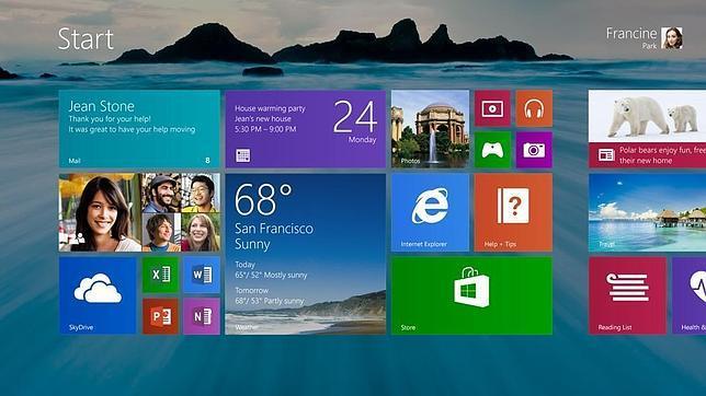 El botón de «Inicio» regresa a Windows 8