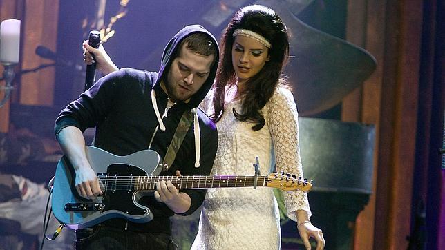 Lana del Rey, durante una actuación en Holanda
