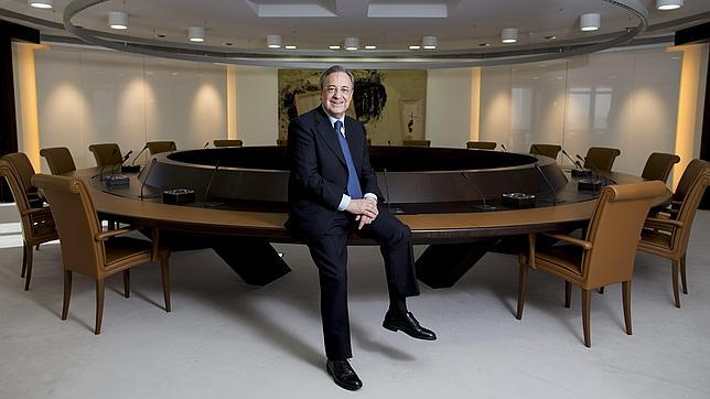 Entrevista a florentino p rez en abc - Oficinas real madrid ...