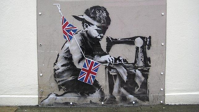 El «niño esclavo» de Banksy puede alcanzar el millón de euros en su subasta en Londres