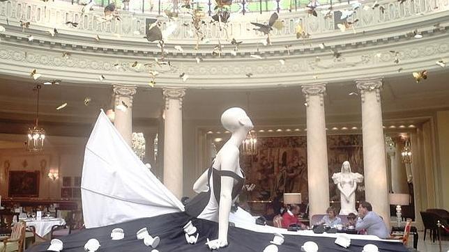 La Cúpula del Palace se «viste» con 12 obras de arte