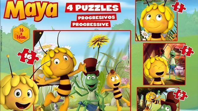 juegos educativos de la abeja Maya