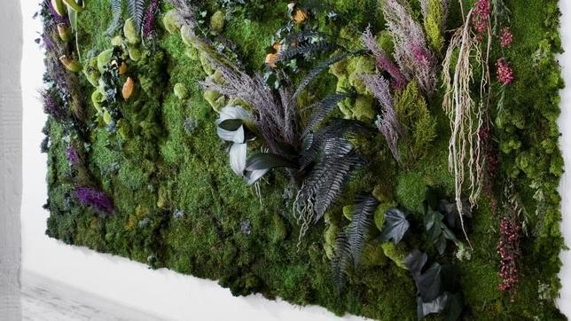 Flores frescas inmunes al paso del tiempo for Plantas jardin vertical