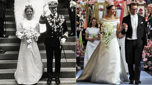 pistas sobre el vestido de novia de magdalena de suecia