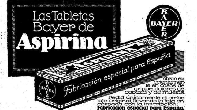 Resultado de imagen de aspirina bayer