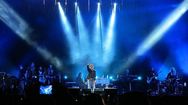 IFA se prepara para el concierto de Alejandro Sanz