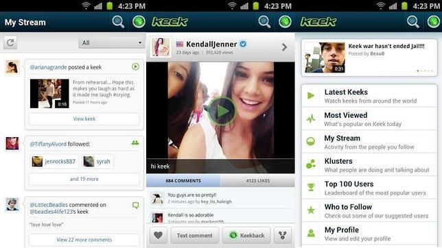 Keek supera los 45 millones de usuarios