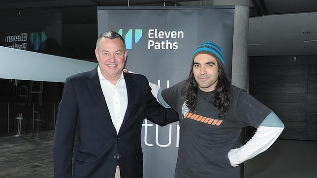 Telefónica y el «hacker» Chema Alonso lanzan la empresa de ciberseguridad Eleven Paths